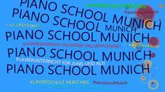 Klavier-/Blockflöte-/Gitarren- Musikunterricht - PianoSchoolMunich