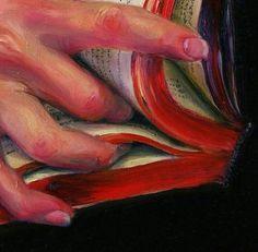 Jen Mazza, Books and Fingers, 1972 Jen Mazza, Books and Fingers, 1972 Painting Inspiration, Art Inspo, Art Sketches, Art Drawings, Illustration Art, Illustrations, Art Plastique, Aesthetic Art, Art Sketchbook