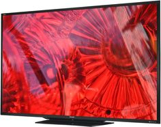 Sharp Debuts Aquos LED TV: Sharp's new Aquos flat panel TV is touted as the 'world's largest' LED.