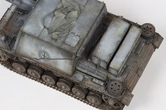 This is the Cyberhobby kit with a Voyager detail set and Aber fenders. It is a German self-propelled gun used for infantry support, depicted as it would have been used during the Battle of Sta…