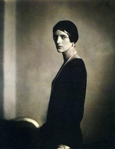 Edward Steichen, Princesse Youssoupoff (épreuve au bromure d'argent), 1924