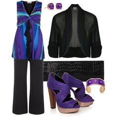 Purple - Plus Size Fashion