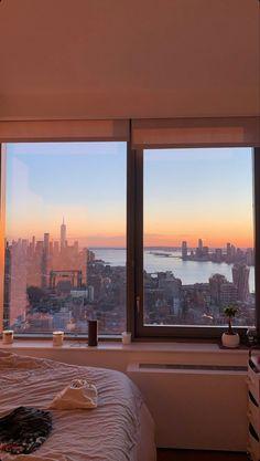 Nyc Life, New York Life, City Aesthetic, Travel Aesthetic, New York Wallpaper, Apartment View, City Vibe, New York City Travel, Dream City