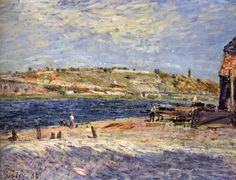 Sisley, Alfred: Fine Arts, 19th c. | The Red List
