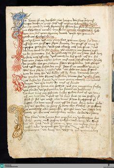 Beschreibung der Reise von Konstanz nach Jerusalem - St. Peter pap. 32 Verfasser Grünenberg, Konrad In Wikipedia suchen nach Konrad Grünenberg Erschienen Bodenseegebiet, [ca. 1487]