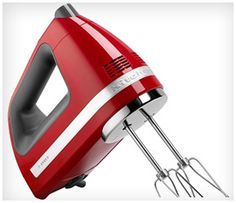 9 best red mixers images kitchens red kitchen aid colors rh pinterest nz