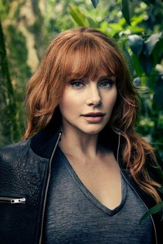 Bryce Dallas Howard as Ansel Beautiful Redhead, Beautiful Celebrities, Beautiful Women, Beautiful Gorgeous, Bryce Dallas Howard, Jurassic Park 3, Female Actresses, Jessica Chastain, Celebrity Beauty
