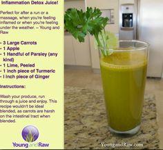 Inflammation juice