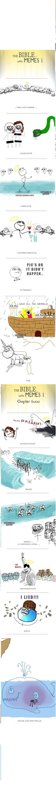 The Bible with Memes...