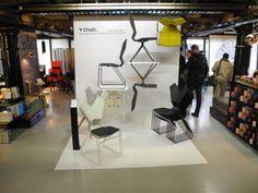 Home I Office I Interior I Chair I Stuhl I Ergnomie Stuhl I glasfaserverstärkte Nylon I LDF 2013 I Y Chair by Tom Dixon
