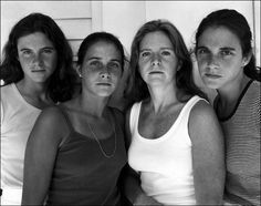 The Brown sisters get their portrait done every year.  (Click through pin to see series.)