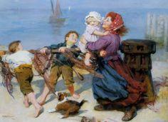 Artist  John Elsley | Pinturas de Arthur John Elsley!