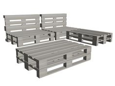 more pallet furniture for outdoors