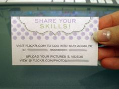 use a really cute camera icon and fun wording... great way to capture all the guests' photos