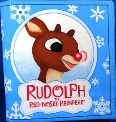 Rudolph The Red Nosed Reindeer children's by TwoKittensGiftsAgain