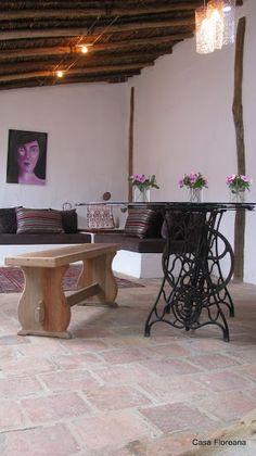 Casa Floreana en Barichara Visit Colombia, Small Art, Villa, Interior, Barichara, Cottage, Decks, Earth, Architecture