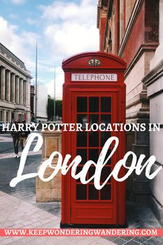 Attention all Potterheads, here's a comprehensive list of the popular Harry Potter locations in London to add to your London itinerary.