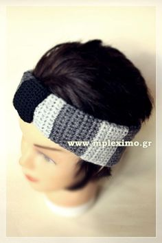 wool crochet headband turban