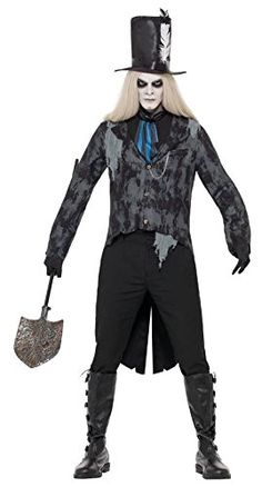 Smiffy's Men's Ghost Town Undertaker Costume with Jacket Cravat and Hat, Multi, Large Smiffy's http://www.amazon.com/dp/B00AZGEDRA/ref=cm_sw_r_pi_dp_zNh3vb1MM1AFH