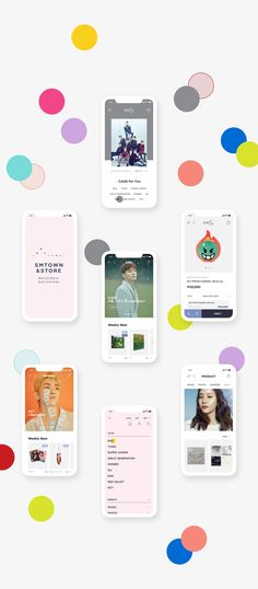 아티스트와 팬을 위한 쇼핑몰 SMTOWN &STORE | 프로젝트 | D.FY App Ui Design, User Interface Design, Creative Studio, Creative Director, Sales And Marketing, Digital Marketing, Tablet Ui, Ui Design Inspiration, Communication Design