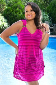e4afdb6082ac5 Plus Size Tunic Dress - Tunic Tops For Women