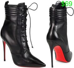 """Toni Braxton in Christian Louboutin """"Mado"""" Leather Ankle Boots"""