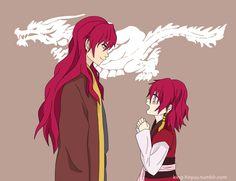 Akatsuki no Yona / Yona of the dawn anime and manga || Hiryuu Yona