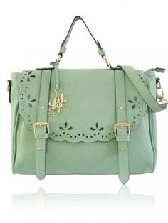 Mint handbag LYDC London