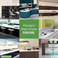 Spacewood - kitting out modern kitchens since 1996. #Designerkitchens #LuxuryKitchens #ModularKitchens #KitchenDesigns #CustomisedKitchens #IndianKitchens #StylishKitchens #BeautifulKitchens