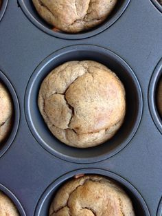 5-Ingredient Banana Almond Butter Muffins #whole30 #paleo #glutenfree These are our families favorite muffins (whether they eat gluten free/paleo/whole30 or not!)