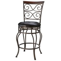 "Threshold™ Wilson 24"" Counter Stool - Bronze"