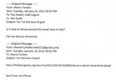 Leaked Emails From Pro-Clinton Group Reveal Censorship of Staff on Israel, AIPAC Pandering, Warped Militarism