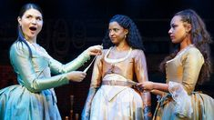 Meet the Magnetic Schuyler Sisters, the Heart of Hamilton Best Broadway Shows, Broadway Plays, Hamilton Broadway, Hamilton Musical, Hamilton Peggy, Alexander Hamilton, Hamilton Schuyler Sisters, Hamilton Costume, Pippa Soo