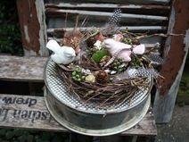 Verliebt in den Frühling - Tischkranz