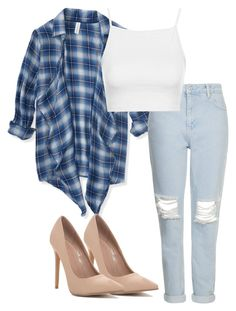 """""""Untitled #91"""" by whoa-its-lexa ❤ liked on Polyvore featuring Aéropostale and Topshop"""