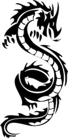Cool Dragon Wall Decal by TrendyWallDesigns on Etsy tribal dragon tattoo Cool Dragon Wall Decal - Wall Decals Dragon Decal Vinyl Sticker Home Decor Bedroom Interior Window Decals Living Room Murals - Dragon Tattoo Stencil, Dragon Tattoo Drawing, Tattoo Stencils, Dragon Tattoo Easy, Tribal Dragon Tattoos, Dragon Tattoo Designs, Tribal Tattoo Designs, Japanese Dragon Tattoo Meaning, Wall Decals