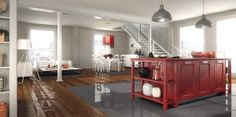 LARI kitchen by Del Tongo - design R&D Center