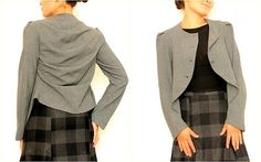 PDF Pattern jacket SALT with sewing instruction by OkiStyle