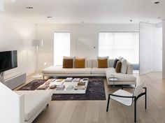 House Bloomsbury | Interior living room design | Stiff and Trevillion architects