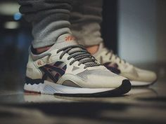Asics Gel Lyte V Grey Legion Blue