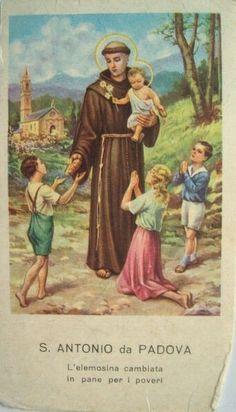 always in my ❤🙏 13 juin : Saint Antoine de Padoue, Religieux de Saint-François (1195-1231)