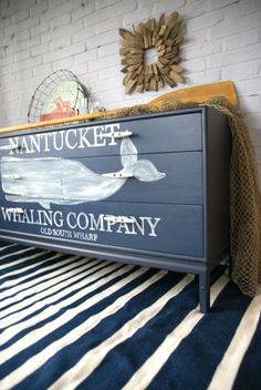 Ship Silhouette Chest Of Drawers - Canary Street Crafts