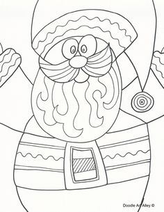 Coloring Pages and Printables for Christmas!
