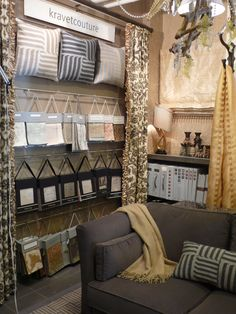 Kravet Couture Showroom Display at Workroom Couture Home from 2009