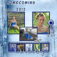 Homecoming '12 | Digital Scrapbooking at Scrapbook Flair