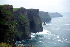 Ireland - Cliffs of Moher - Traveled here with friends.  Absolutely beautiful country!