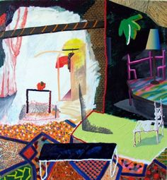 Shara Hughes, Those Are Your Areas, and These Are Mine, 2011
