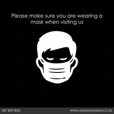 We love our clients and staff, therefore strict safety protocols are a must. 1) Wear a mask 2) Sanitize 3) Your details will be recorded 4) Adhere to social distancing 5) Prepay or use your card. Discover more by clicking the link below: Watch This Space, Safety, News, Link, How To Wear, Security Guard