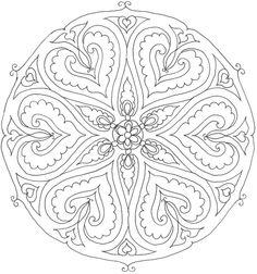 MűvészMűhely: Szeretet mandala kontúrok - Mandalas of love Adult Coloring, Coloring Books, Coloring Pages, 2 Colours, Artwork, Pictures, Meet, Google, Beautiful