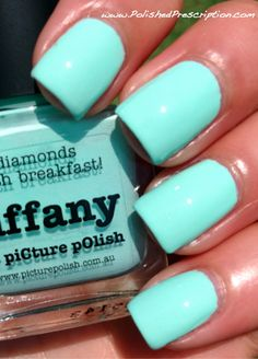 Polished Prescription: piCture pOlish Tiffany